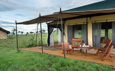 Kiota Camp Serengeti tent