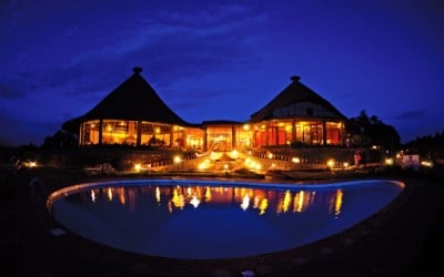 Ngorongoro Sopa Lodge_lodge_by_night
