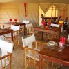 Nieleze Serengeti Camp dinning room