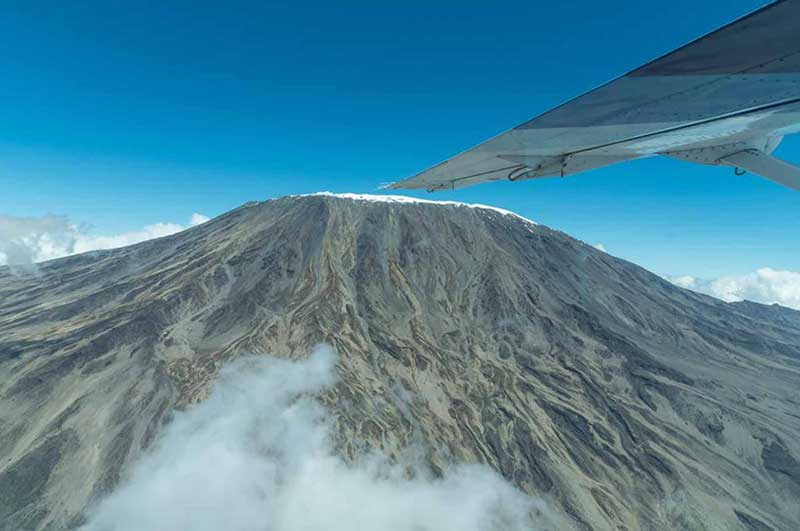 A NEW SCENIC FLIGHT TO FLY OVER KILIMANJARO