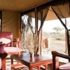 mara under canvas tented camp sitting area