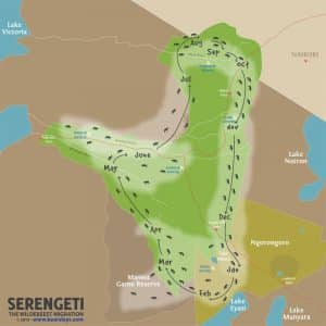 serengeti-migration-map