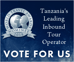 World Travel Awards Nominee 2018 - Vote for us Kearsleys Travel & Tours - Tanzania's Leading Inbound Tour Operator